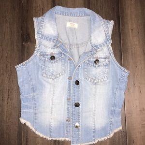 Women's Small Jean Vest